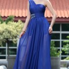 Hot Sale Tencel Chiffon Floor Length One Shoulder Gorgeous Party Dresses For Women