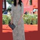 Gorgeous V-Neck 3/4 Sleeve Floor-Length  Celebrity Dresses