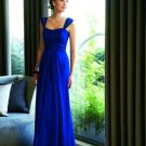 A-Line/Princess Sweetheart Floor-Length Chiffon Charmeuse Bridesmaid Dresses