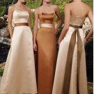 Sweetheart Floor-Length Satin Bridesmaid Dresses