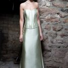 Satin Sweetheart Neckline Strapless Neckline Beaded Bodice A-Line Style 2012 Hot Sell Dress