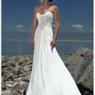 Hot sell beach splendid a-line wedding dresses