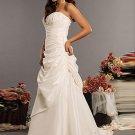 Neck Chapel Train Chiffon Charmeuse Bridal Dresses