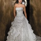 beach luxury fashionable strapless wedding dresses