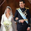 Spain Princess Letizia's Wedding Dresses