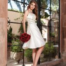 Keen Length Pleated Embroider  Cheap Wedding Dresses