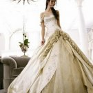 Nice Ball-Gown Sweetheart Cathedral Train Lace princess wedding dresses