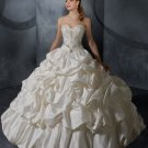 Sweetheart Neckline Pick up Ball Gown princess princess wedding dresses
