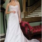 A-Line/Princess Sweetheart Chapel Train Taffeta vintage wedding dresses