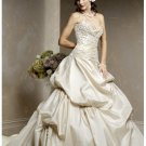 strapless neckline  wedding dresses 2012