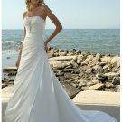 Gorgeous flowery gorgeous strapless wedding dresses 2012