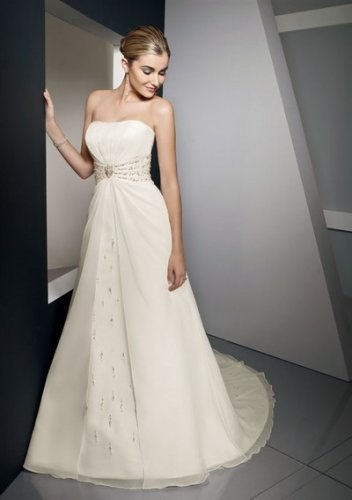Summer sumptuous pretty strapless wedding dresses