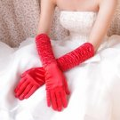 Long section refers to the whole bridal gloves