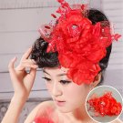 Red Wedding Hair Accessories