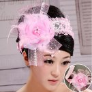 The new bride head flower pink
