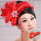 Red Flower flower lace head of accounts