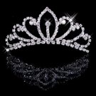 Bride luxury diamond marriage headdress