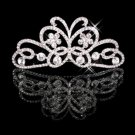 Wedding dress butterfly sparkling crown