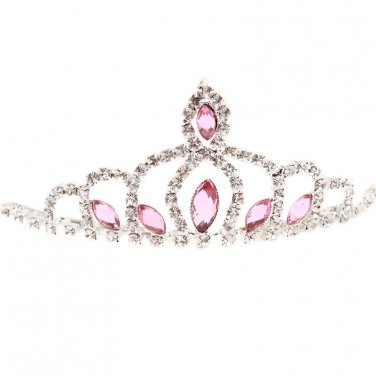 The wonderful red Diamond wedding tiaras