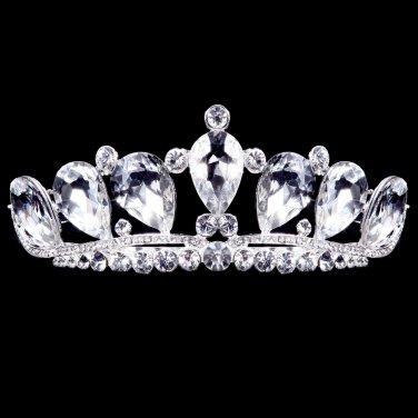 Silver white door of Bridal Crown