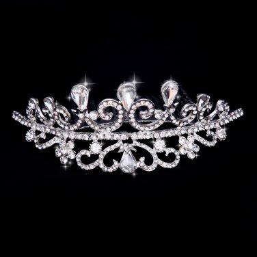 Luxury rhinestones married Crown