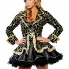 Cool Black Acrylic Pirate Costume