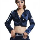 Long Sleeves Women's Sexy Airhostess Costume