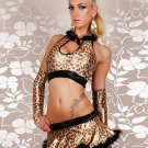 Leopard Two-Piece Sexy Catwoman Costume
