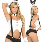 Acrylic Spandex Sexy Bunny Costume