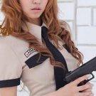 Sweet Female Cop Spontoon G-String Costume