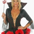 Deep V-Neck Polyester Sexy Demon Costumes