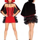 Stickup Acrylic Spandex Womens Fantasy Costume