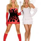 Hot Red Sexy Demon Costume
