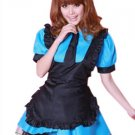 Polyester Short Sleeve Women's Sexy Maid Costume