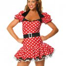Attractive Red Womens fantasy Costume