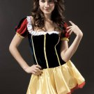 Sweet Black Yellow Red Sexy Princess Costume