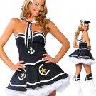 Wonderful Blue Sexy Sailor Costume