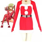 Vocaloid Hatsune Miku Christmas Anime Cosplay Costume