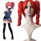 Vocaloid Kasane Teto Red 40cm Cosplay Wig