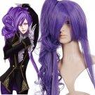 Purple 90cm VOCALOID-Gakupo Nylon Cosplay Wig