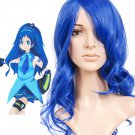 Blue 45cm VOCALOID Nylon Cosplay Wig