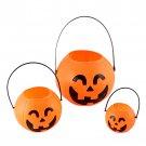 Halloween Accessories Pumpkin 18cm Portable Barrel