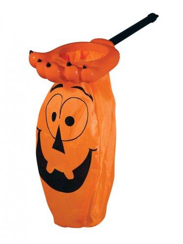 Halloween Accessories Orange Expression Candy Bag