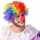 Halloween Clown Accessories Clown Wigs Color Explosion Head