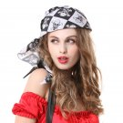 Halloween Accessories Cosplay Pirate Hat Skull Headscarf
