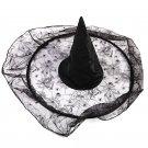 Halloween Accessories Black Witch Hat