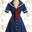 Deep Blue Classic Lolita Dress