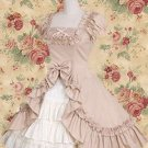 Classic Short Sleeves Ruffles Cotton Lolita Dress