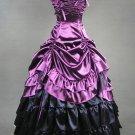 Classic Lolita Rococo Renaissance Aristocrat Purple Long Dress