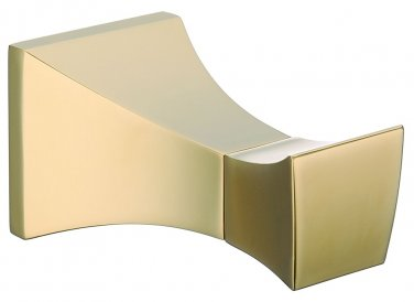 BATHROOM ACCESSORIES SQUARE DESIGN GOLD robe hook